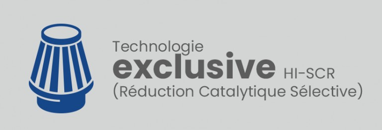 Technologie HI-SCR (Réduction Catalytique Sélective))