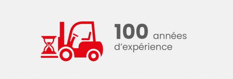 100 années d'expérience